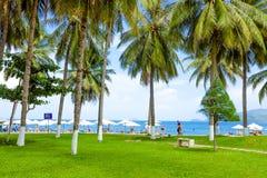 Holiday season in Beach. Royalty Free Stock Photo