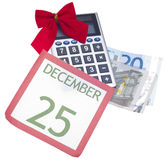 Holiday Season Budget Royalty Free Stock Image