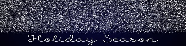 Holiday Season greeting card. Amazing falling stars background. Amazing falling stars on deep blue background. Ravishing vector illustration Royalty Free Stock Photos