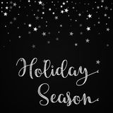 Holiday Season greeting card. Stock Photos