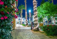 Holiday Season in La Quinta Royalty Free Stock Photos