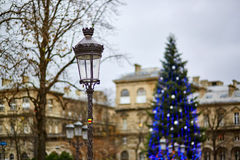 Holiday season in Paris Royalty Free Stock Images