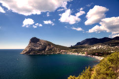 Holiday settlement Noviy Svet, Crimea. Ukraine Royalty Free Stock Image