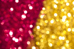 Holiday shiny yellow and red colors Royalty Free Stock Photos