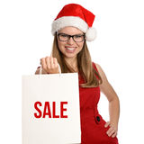 Holiday shopper Royalty Free Stock Photos