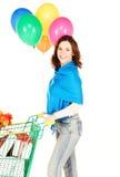 Holiday shopper Royalty Free Stock Photo