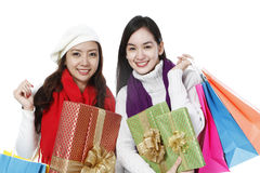 Holiday Shopping Royalty Free Stock Photography
