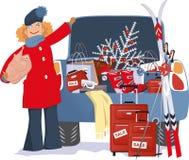 Holiday Shopping Royalty Free Stock Image