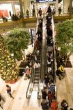 Holiday shopping mall Royalty Free Stock Photos