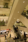 Holiday shopping mall Stock Image
