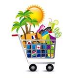 Holiday shopping Stock Photos