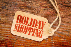 Holiday shopping  sign a paper price tag Royalty Free Stock Image