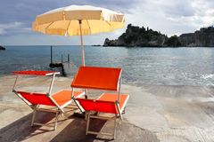Holiday in Sicily Royalty Free Stock Images