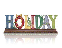 Holiday Sign Royalty Free Stock Image