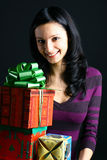 Holiday smiles Royalty Free Stock Image