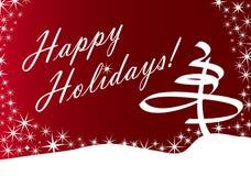Holiday Snow Design Royalty Free Stock Photo