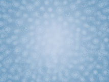 Holiday snowflake background for new years or christmas day Royalty Free Stock Photos