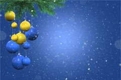 Holiday Snowy Background Royalty Free Stock Image