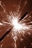 Holiday sparkler Stock Photos