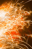 Holiday sparkler Stock Images
