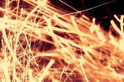 Holiday sparkler Stock Image