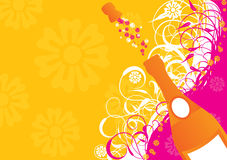 Holiday sparks, vector Stock Photos