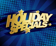 Holiday specials design. Stock Images