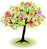 Holiday spring tree Royalty Free Stock Images