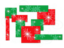Holiday Star Background stock illustration