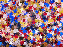 Holiday star shape background. Stock Photography