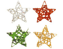 Holiday stars Stock Image