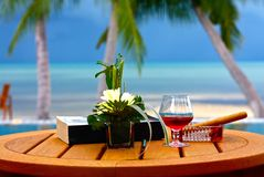 Holiday. A holiday is starting on koh samui Royalty Free Stock Photos