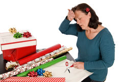 Holiday Stress Royalty Free Stock Photo