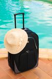 Holiday Suitcase stock photos