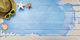 Holiday, summer banner Stock Photography