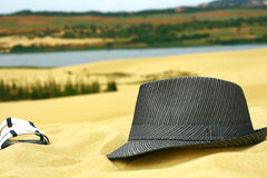 Holiday in summer beach Royalty Free Stock Photography