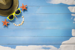 Holiday, summer smile Stock Images