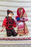 Holiday of sun. Dolls symbolizing celebration of the summer solstice Stock Image