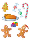 Holiday Sweets Royalty Free Stock Images