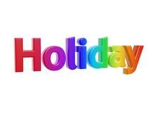 Holiday symbol. Colorful holiday symbol isolated on white background Stock Photo