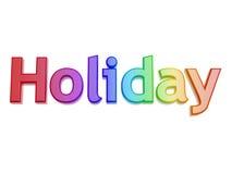 Holiday symbol. Colorful holiday symbol isolated on white background Stock Photos