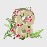 Holiday Symbol Eighth of March, digit 8 Stock Image
