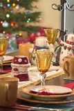 Holiday Table  Stock Photos