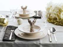 Holiday Table Royalty Free Stock Image