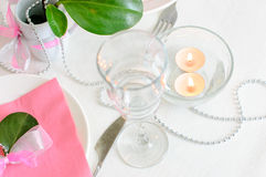 Holiday tableware Stock Photography