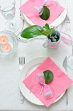 Holiday tableware Royalty Free Stock Photography