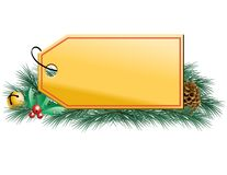 Holiday Tag Royalty Free Stock Photos