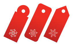 Holiday tags Stock Photography