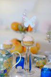 Holiday tea party Royalty Free Stock Photo