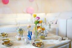 Holiday tea party Royalty Free Stock Photography